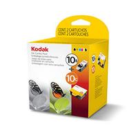 Kodak Ink Combo Pack, 10B + 10C inktcartridge - Zwart, Cyaan, Magenta, Geel