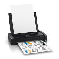 Epson inkjet printer: Workforce WF-100W - Zwart, Cyaan, Magenta, Geel