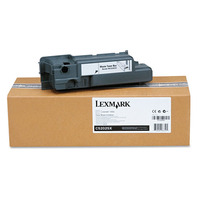 Lexmark toner collector: C52x, C53x ~25K (images) waste toner cont. - Zwart