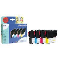 Pelikan inktcartridge: 4107862 - Zwart, Cyaan, Magenta, Geel