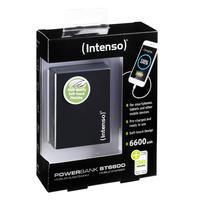 Intenso Intenso Powerbank Softtouch ST6600 zwart 6600 mAh (7333520)