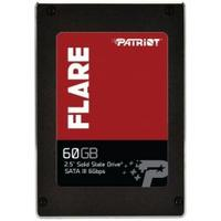 "Patriot Memory SSD: 6.35 cm (2.5 "") SATA 3, 60GB, 32MB Cache, Black/Red - Zwart, Rood"