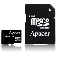 Apacer flashgeheugen: microSDHC Class4 4GB