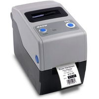 SATO CG208TT Labelprinter - Zwart, Grijs