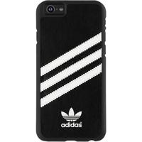 "Adidas mobile phone case: Originals Moulded Backcover for iPhone 6 4.7"", black/white - Zwart, Wit"