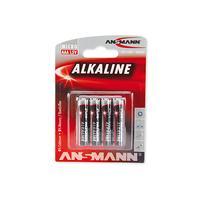 Ansmann - 4erBlister AAA - Micro accu Red
