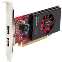 AMD videokaart: FirePro W2100 2GB - Zwart, Rood