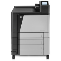 HP laserprinter: LaserJet Color LaserJet Enterprise M855xh printer - Zwart, Cyaan, Magenta, Geel