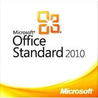 Microsoft software suite: Office Standard 2010, OLP-NL, LIC/SA, GOV, ENG