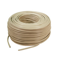 LogiLink netwerkkabel: CAT5e Raw cable - Beige