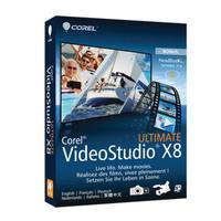 Corel, Video Studio X8 Ultimate (Dutch / French)