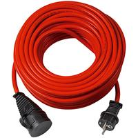 Brennenstuhl power extrention: Bremaxx extension cable IP 44 25m red AT N05V3V3-F3G1,5 - Rood