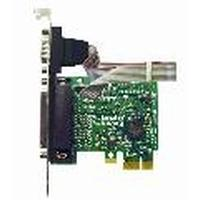 Brainboxes interfaceadapter: PCI Express 1 LPT Port + 1 RS232 Port - Groen