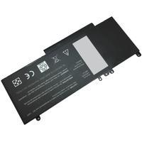 MicroBattery batterij: 4 Cell Li-Ion 7.4V 5.2Ah - Zwart