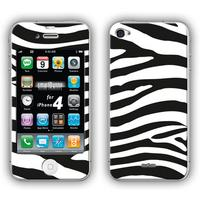SmartBunny mobile phone case: Skin iPhone - Zwart, Wit