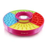 Emerio suikerspin maker: CAN-110357, 40W, pink/red/yellow/blue/green - Blauw, Groen, Roze, Rood, Geel