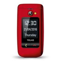 TELME mobiele telefoon: X200 - Rood
