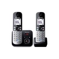Panasonic dect telefoon: KX-TG6822 - Zwart, Zilver
