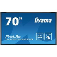 "Iiyama touchscreen monitor: ProLite ProLite 70"" Full HD - Zwart"