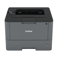 Brother laserprinter: Laserprinter 40 ppm - 128 MB - interne duplexunit - LCD display - Zwart