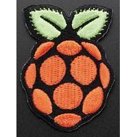 Adafruit badge: Skill badge, iron-on patch - Zwart, Groen, Oranje