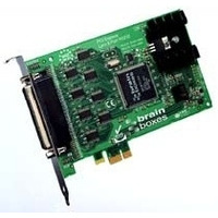 Brainboxes interfaceadapter: PCI-e 8-port RS232 (25-pin)