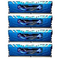 G.Skill RAM-geheugen: Ripjaws 32GB DDR4-2400Mhz - Blauw