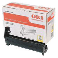OKI drum: Yellow image drum for C5650/5750 - Geel