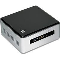 Intel barebone: NUC5i7RYH - Zwart, Zilver