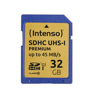 Intenso SD Card 32GB Intenso SD-HC UHS-I (3421480)