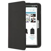 "Tech air tablet case: Folio case for Samsung Galaxy Tab 4 7.0, 17.78 cm (7 "") , PU, Black - Zwart"