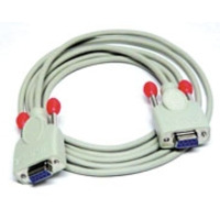 Lindy signaal kabel: Card Reader cable 2m - Grijs
