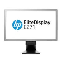 HP monitor: EliteDisplay E271i - Zilver