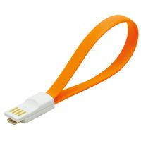 LogiLink USB kabel: USB/Micro USB - Oranje