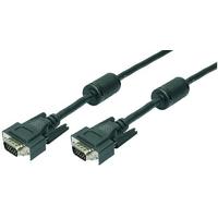 LogiLink VGA kabel : 20m VGA M/M - Zwart