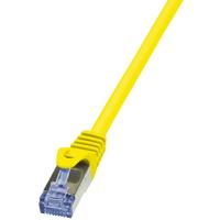 LogiLink netwerkkabel: Cat6a S/FTP, 3m - Geel