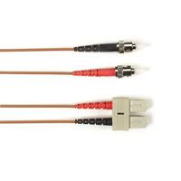 Black Box ST-SC 1-m fiber optic kabel