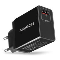 Axagon ACU-QC19 QC3.0 WALL CHARGER Oplader - Zwart