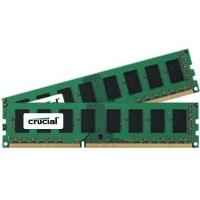 Crucial RAM-geheugen: CT2KIT51264BA1339, 8GB Kit (4GBx2), 240-pin DIMM, DDR3 PC3-10600 memory module