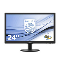 Philips V Line LCD-met SmartControl Lite Monitor - Zwart