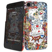 I-Paint mobile phone case: Tattoo - Multi kleuren
