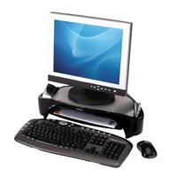 Fellowes monitorarm: Smart Suites Monitorstandaard Plus - Zwart