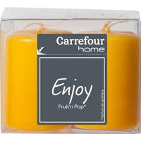 Carrefour Home kaars: 10018345 - Oranje