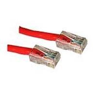C2G netwerkkabel: Cat5E Crossover Patch Cable Red 0.5m