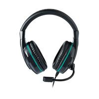 NACON headset: 3.5 mm, 250 cm - Zwart, Turkoois