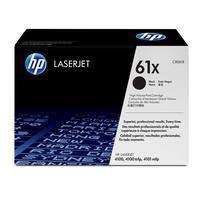 HP toner: LaserJet C8061X Black for 4100 - Zwart