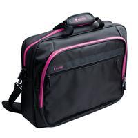 König laptoptas: Notebook bag 13''/14'' hot pink - Zwart, Roze
