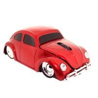 Satzuma computermuis: Car Mouse - Rood
