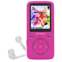 Difrnce MP1805 - MP4 Speler - 8 GB - Roze MP3 speler