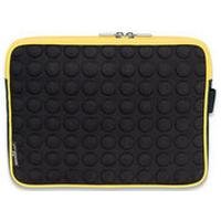 "Manhattan tablet case: Tablet Bubble Case, 25.654 cm (10.1 "") , EVA & neoprene, Black/Yellow - Zwart, Geel"
